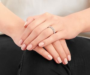 anel de noivado barato